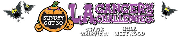 L.A. Cancer Challenge 2016, Sunday Oct 30, 5K/10K Walk/Run